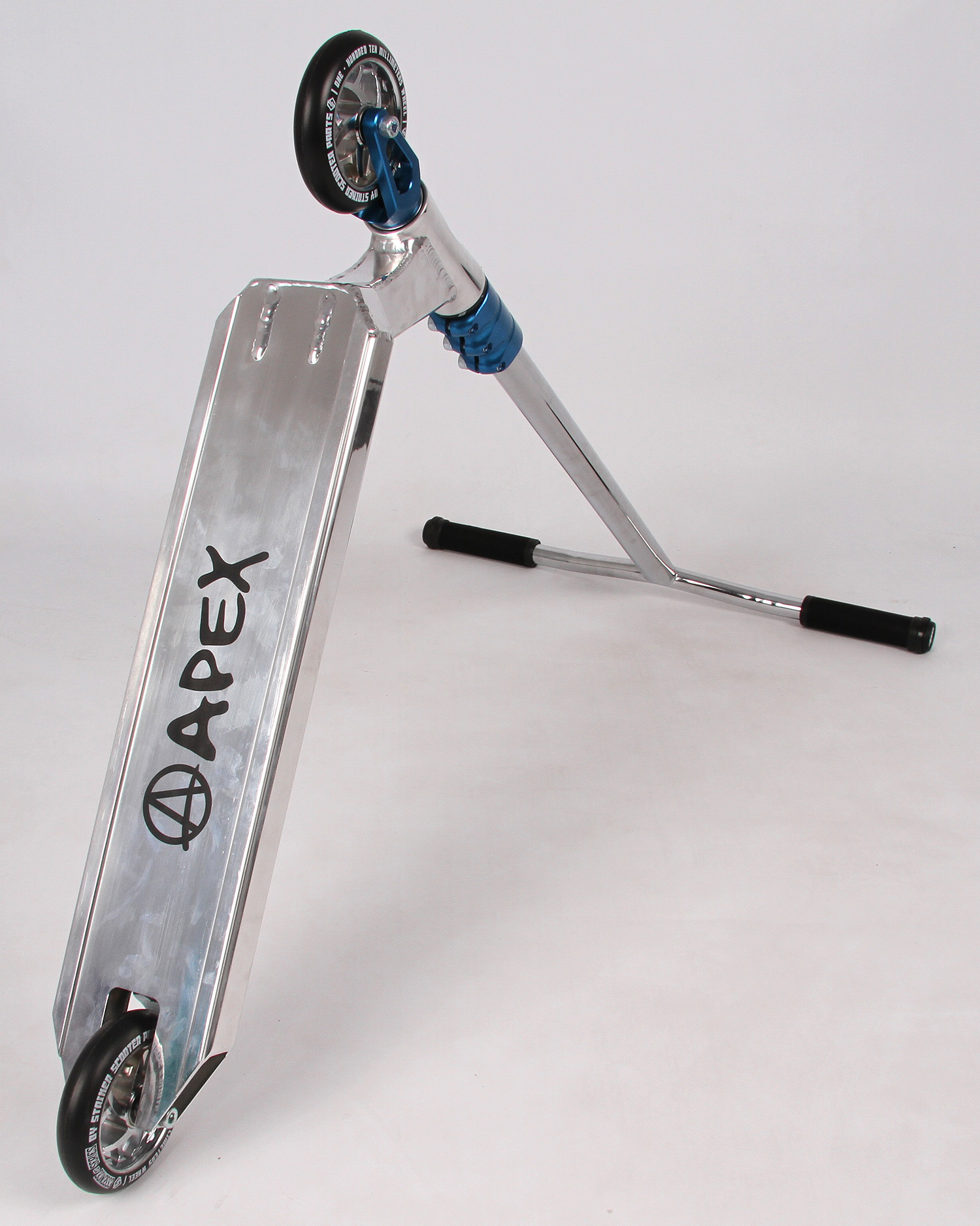 Apex Pro Custom Scooter - Polished/Blue