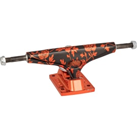 Krux Krome Standard Skateboard Trucks - Rose Red 8