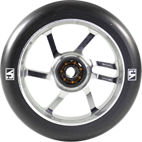 UrbanArtt S7 110mm Wheel - Chrome / Black