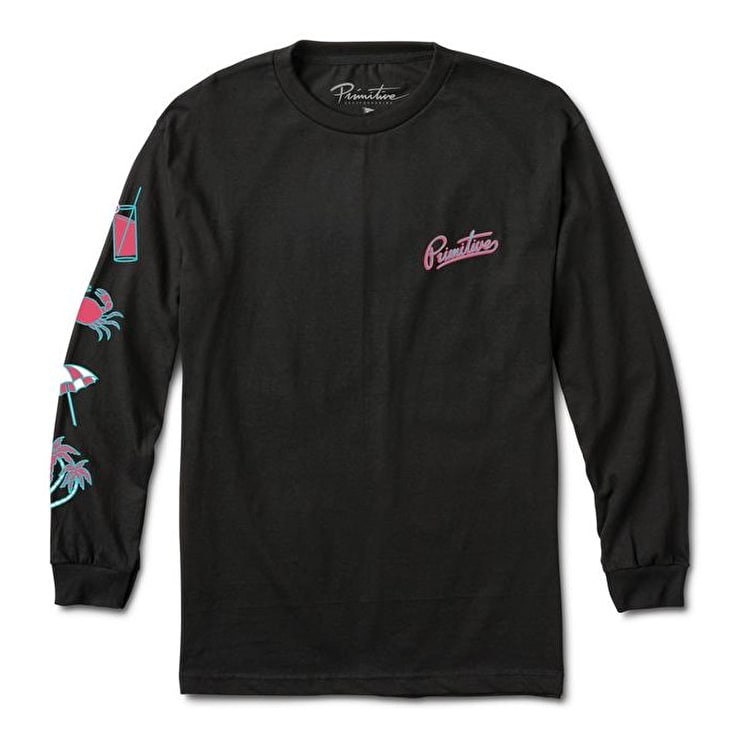 Primitive Going Nowhere Long Sleeve T-Shirt - Black