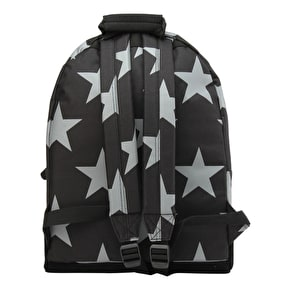 Mi-Pac Stars XL Backpack - Black/Grey