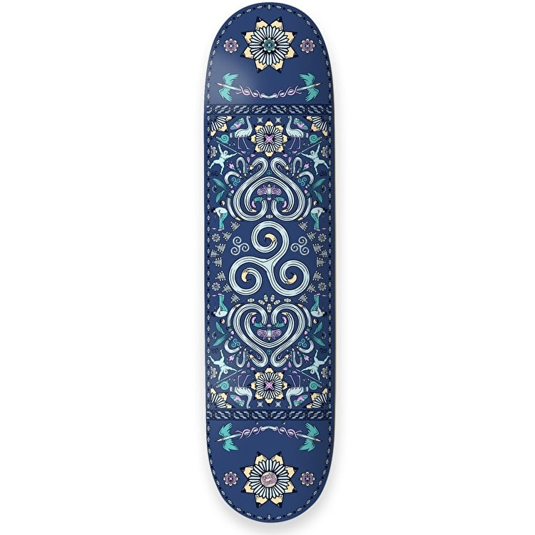 Drawing Boards Positive Symbols Skateboard Deck - Spiral Of Life 8""