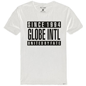 Globe Parental T-Shirt - White/Black