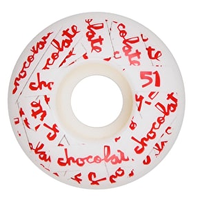 Chocolate All Over Chunk Staple 99a Skateboard Wheels - 51mm
