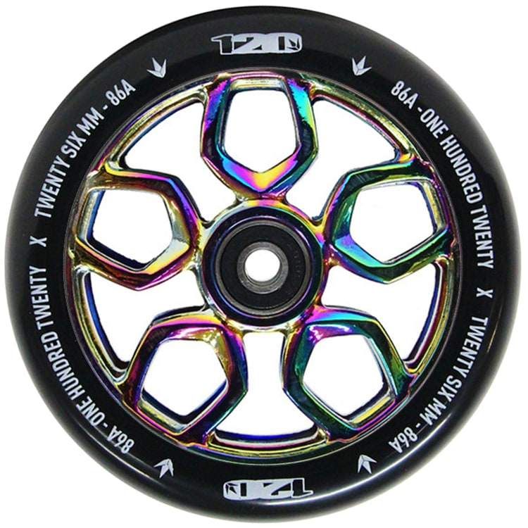 blunt envy 120mm lambo scooter wheel oil slick blunt scooters