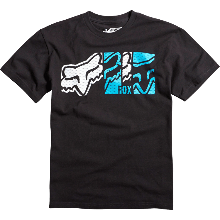 Fox kids' Head Rush SS T-Shirt - Black
