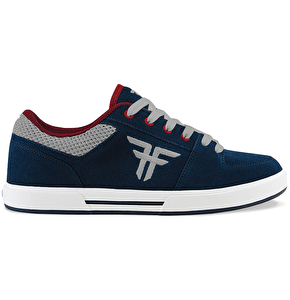 Fallen Patriot Skate Shoes - Midnight Blue/Newsprint Grey