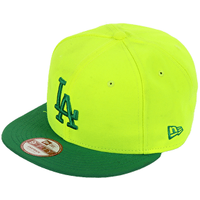 B-Stock New Era 9Fifty LA Dodgers Pop Out Snapback Cap - Small / Medium (Dirty)