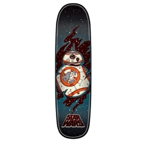 Santa Cruz x Star Wars Episode VII Skateboard Deck - BB8 8.5