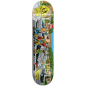 Almost Low Riders R7 Skateboard Deck - Daewon 8