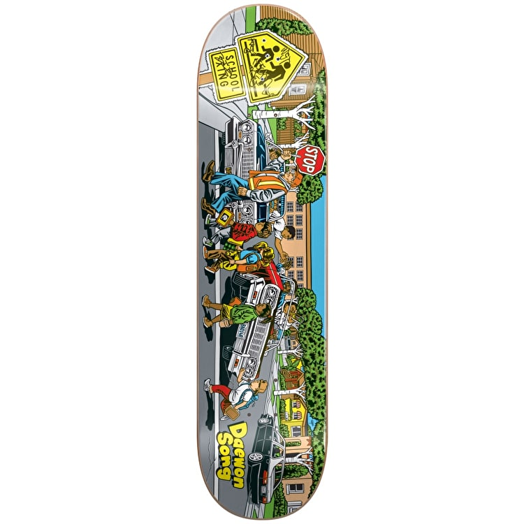Almost Low Riders R7 Skateboard Deck - Daewon 8""