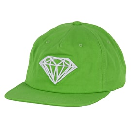 Diamond Supply Co Brilliant Unstructured Snapback Cap - Green