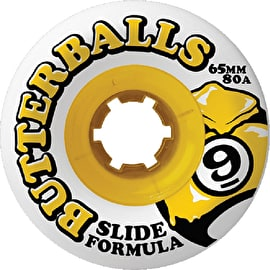 Sector 9 Butterballs Longboard Wheels - 65mm 80A (Pack of 4)