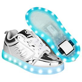 Heelys Premium 1 Lo Light Up - Silver Chrome