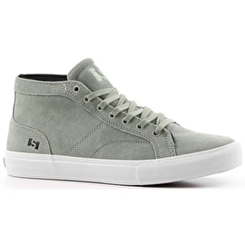 State Salem High Top Skate Shoes - Mint/White