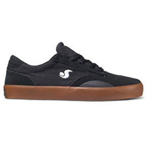 DVS Daewon 14 Shoes - Black/Gum Suede Canvas