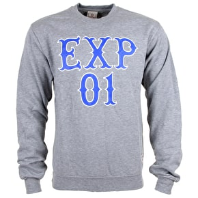Expedition One Stacked Crewneck - Grey