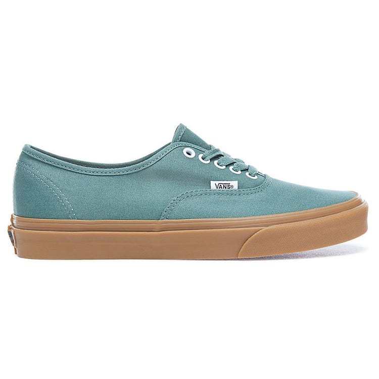 Vans Authentic Skate Shoes Duck Green/Gum