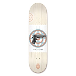 Habitat Matthews World 'Piece' Skateboard Deck - 8.25