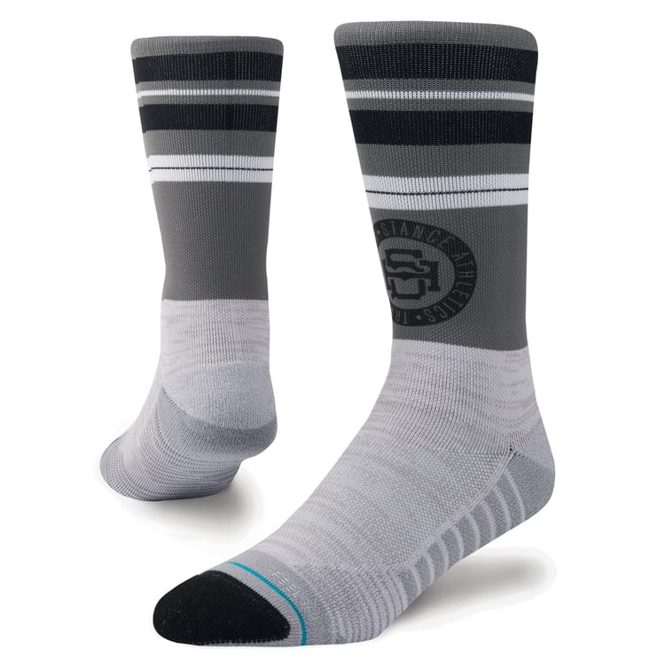 Stance Gym Rat Crew Socks - Grey