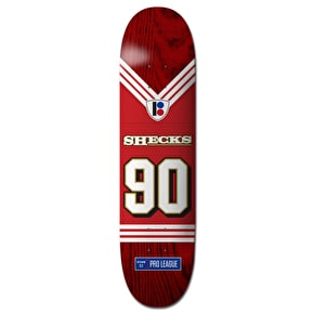 Plan B Sheckler Super Roll Pro Spec Skateboard Deck - 8