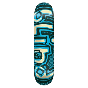 Blind Skateboard Deck - OG Warped Green/Blue 7.75