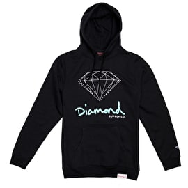 Diamond Supply Co OG Sign Hoodie - Black