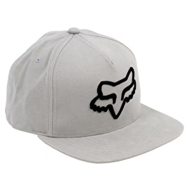 Fox Instill Snapback Cap - Steel Grey
