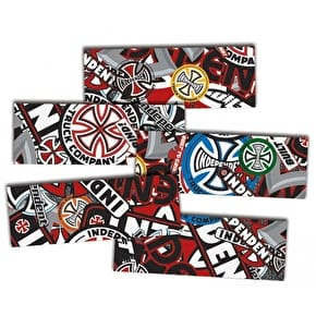 MOB Skateboard Grip Strips - Independent Logo Collage 9