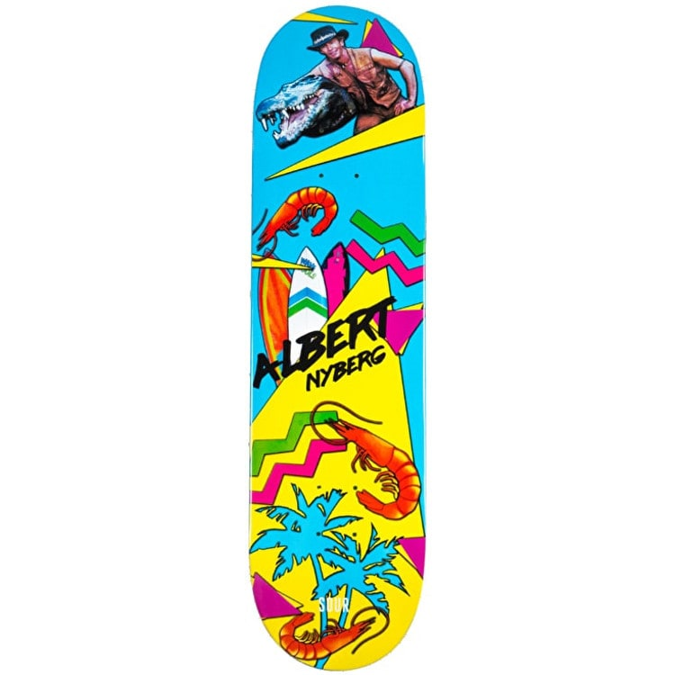Sour OZ Summer Skateboard Deck - Albert 8.125