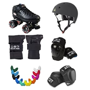 Roller Derby Starter Package- Riedell R3 Advanced 187