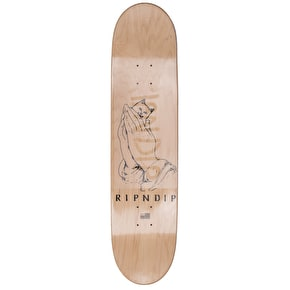 RIPNDIP Lord Nermal Skateboard Deck - Natural