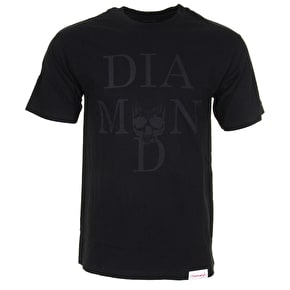 Diamond Skull T-Shirt - Black