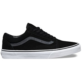 Vans Old Skool Shoes - (Reptile) Black/Tornado
