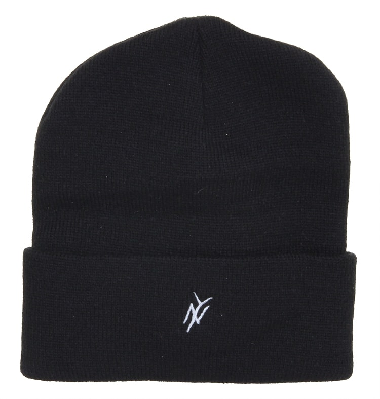 Image of 5Boro NY Monogram Beanie - Black