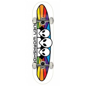Alien Workshop Spectrum Complete Skateboard - White 7.875