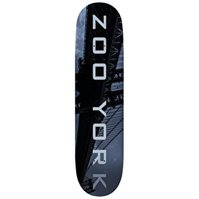 Zoo York Skateboard Deck - Metropolis Bridge 8.5