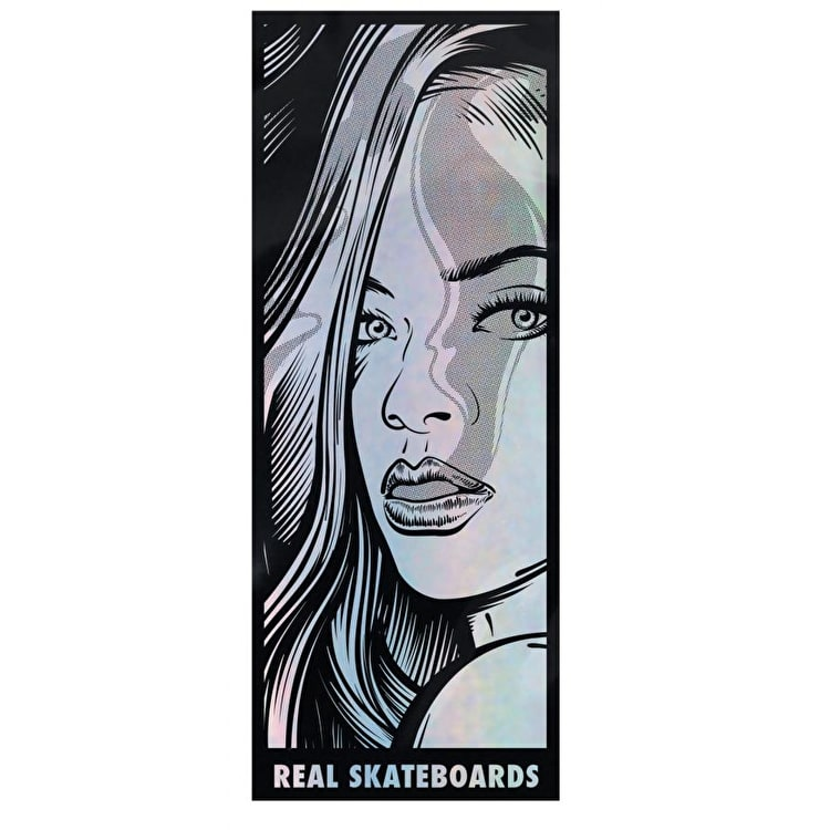 Real Hotbox Skateboard Sticker