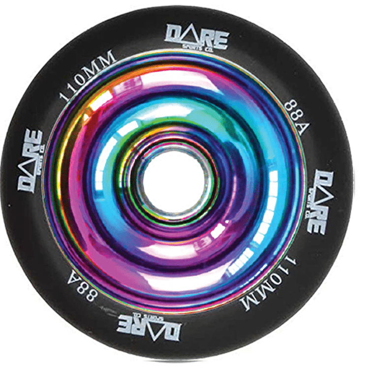 Dare Solid Core Scooter Wheel - Neochrome 110mm