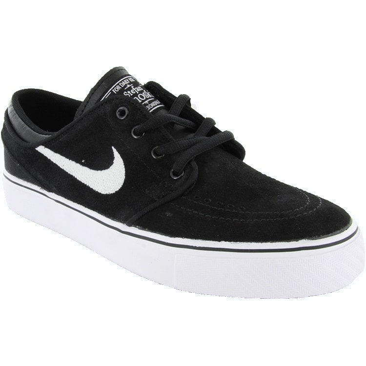 Nike SB Stefan Janoski Kids' Shoes - Black/White/Gum