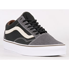 Vans Old Skool Skate Shoes - (T&H) Black/Black