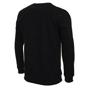 Hype Camo Circle Crewneck - Black