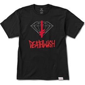 Diamond Supply Co X Deathwish Sign T Shirt - Black