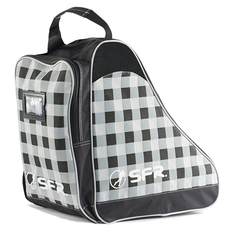 SFR Ice Skate Bag - Designer Black Chequered