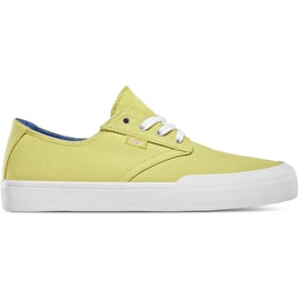 Etnies Jameson Vulc LS Womens Skate Shoes - Yellow