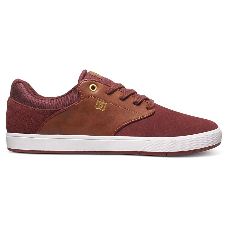 DC Mikey Taylor Skate Shoes - Burgundy