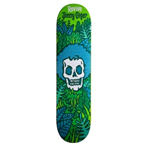 ReVive Giger Skull Skateboard Deck
