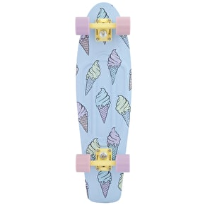 Penny Nickel Complete Skateboard - Ice Scream Glow In The Dark 27