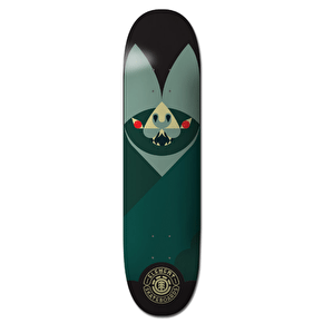 Element Segment Skateboard Deck - Logo 8.25