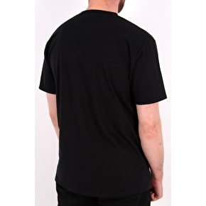 SkateHut Bar Logo T-Shirt - Black/Camo
